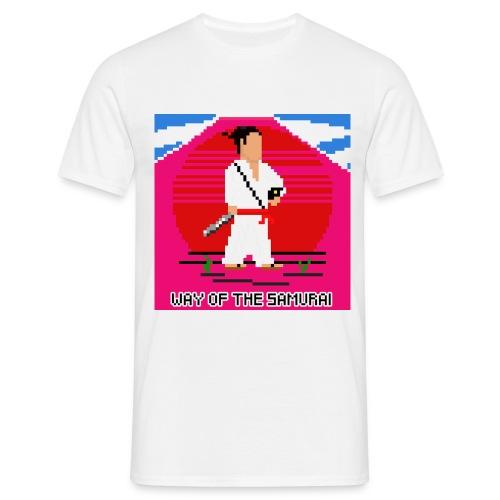 Pixel Samurai - Herre-T-shirt