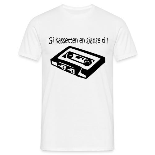 kassetten - T-skjorte for menn