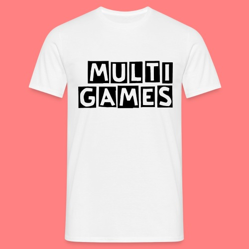 Multi Games Zwart - Mannen T-shirt