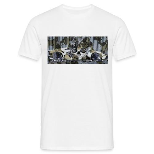 calavera style - Men's T-Shirt