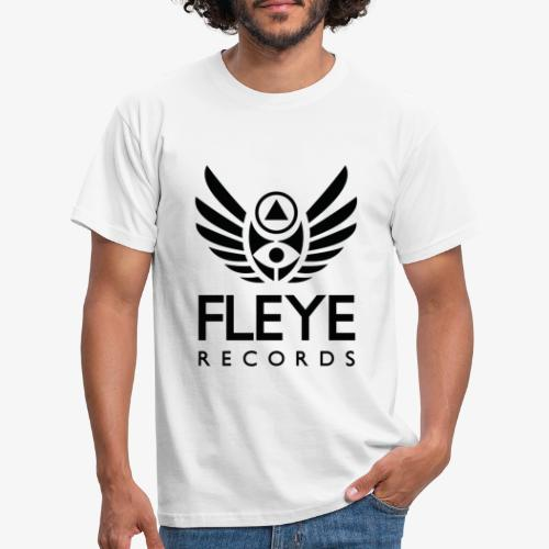 Fleye Records (Black Logo Design) Tøj m.m. - Herre-T-shirt