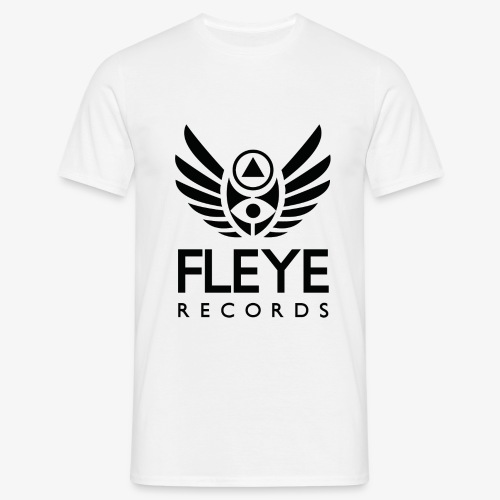 Fleye Records (Black Logo Design) Tøj m.m. - Herre-T-shirt