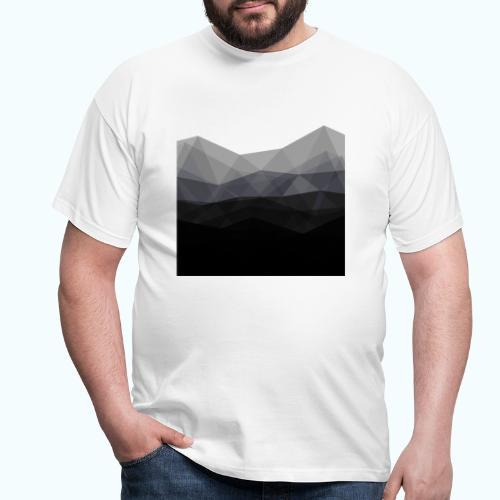 Minimalistic triangle geometry - Men's T-Shirt