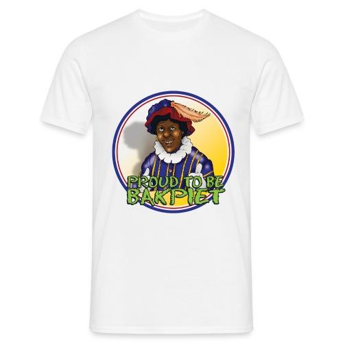 bakpiet fc cartoon - Mannen T-shirt