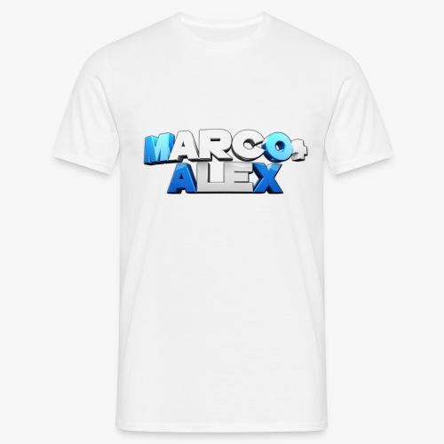 Logo Marco+Alex - Maglietta da uomo