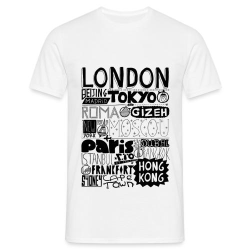 Villes du monde - T-shirt Homme
