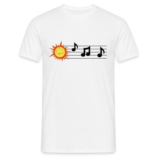 Treble Clef - Clave de Sol - Men's T-Shirt