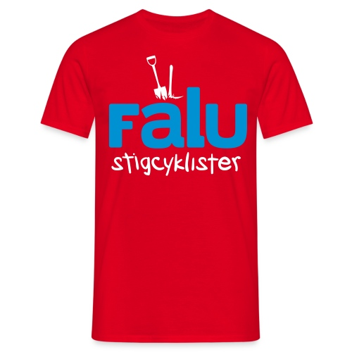 Falu Stigcyklister Blå - T-shirt herr
