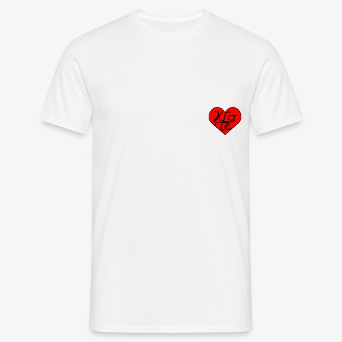 Klote Hartje - Mannen T-shirt