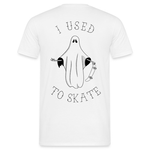 I Used To Skate - T-shirt Homme