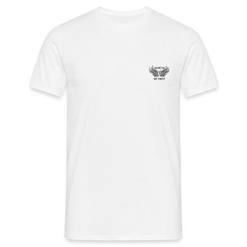 In Metal we trust! - Men's T-Shirt