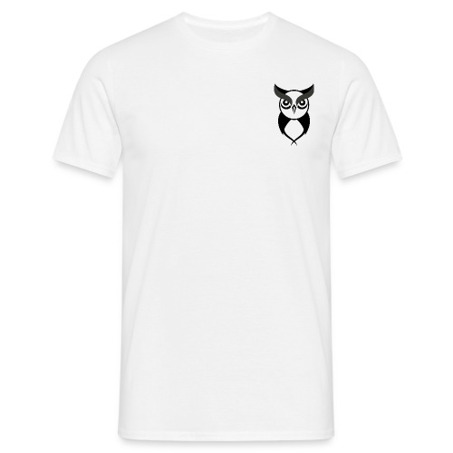 Owl logo black - Men's T-Shirt
