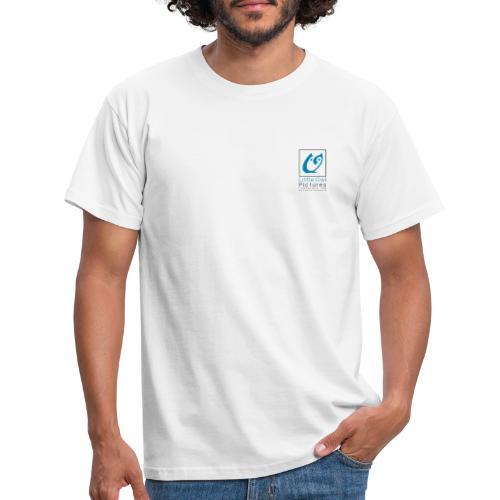 Little Owl Pictures Logo (schwarz/blau) - Männer T-Shirt