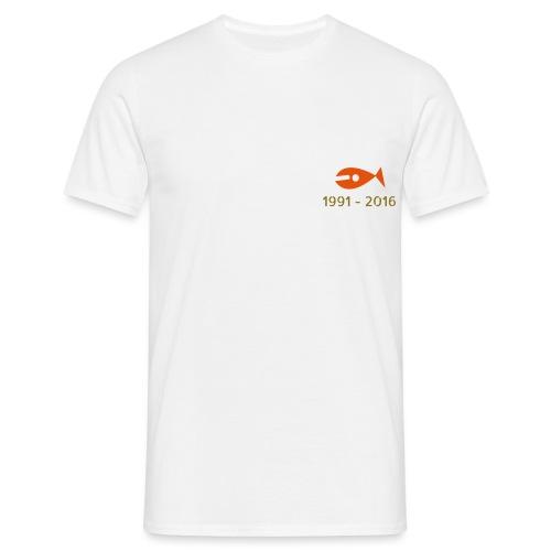 1991 - 2016 - Herre-T-shirt