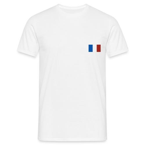 Drapeau français - T-shirt Homme
