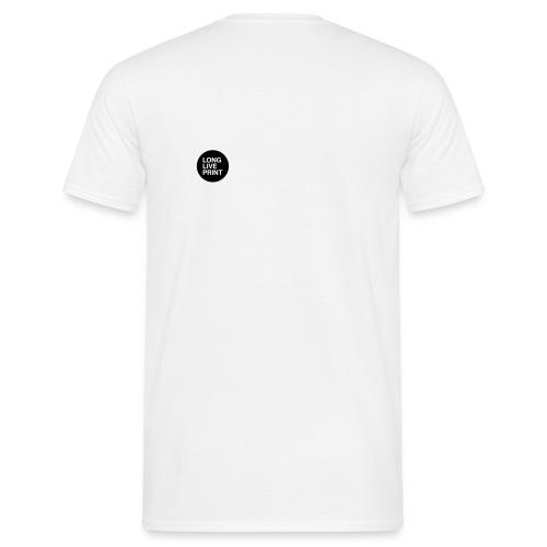 LONG LIVE PRINT - Männer T-Shirt