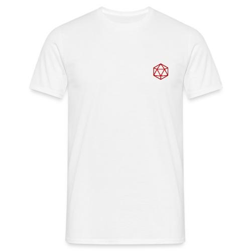 D20 Red - Mannen T-shirt