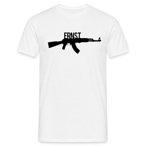 groß schwarz ak png - Männer T-Shirt