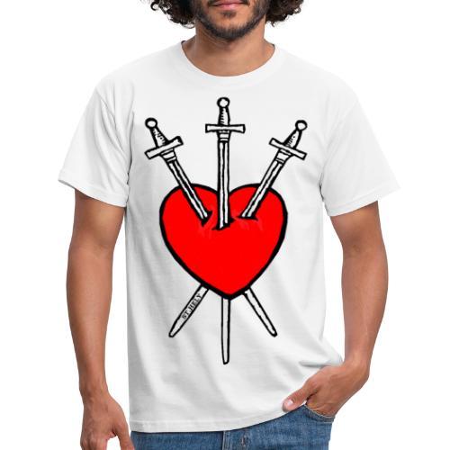 Tarot Sydän - Miesten t-paita