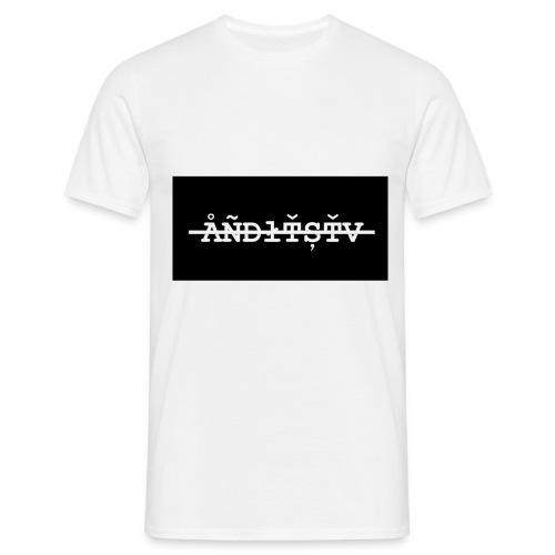 ÅÑĐłŤȘŤV 3 png - Männer T-Shirt