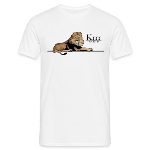löwe farbig - Männer T-Shirt