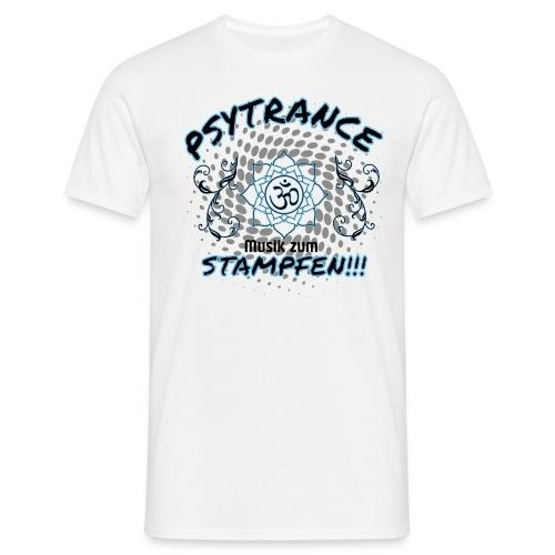 Psytrance Musik zum Stamp - Männer T-Shirt