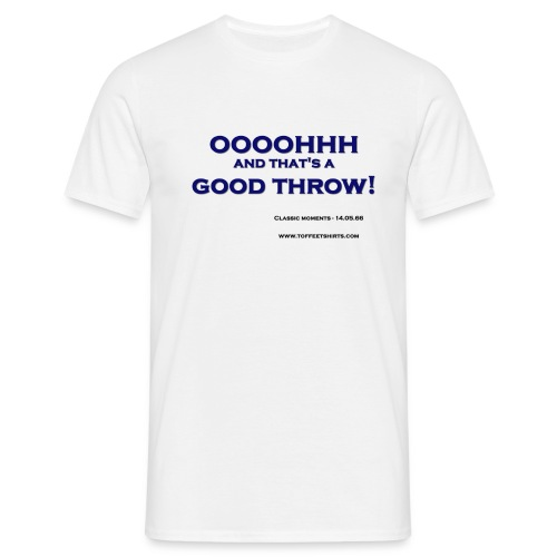 efc good throw firew - Men's T-Shirt