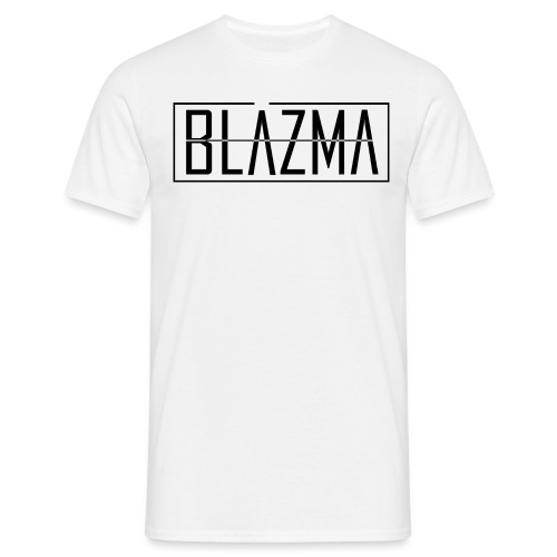 Blazma Black Front Big Logo - Men's T-Shirt