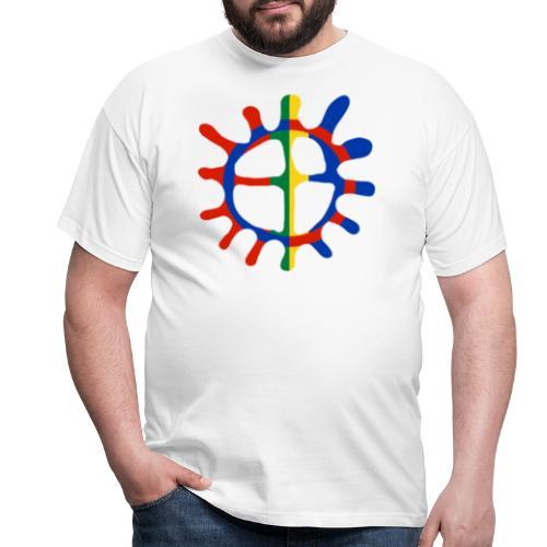 Samisk sol - T-skjorte for menn
