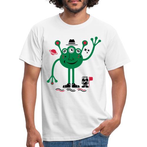 Martian | Marciano Amistoso y Astronauta - Camiseta hombre
