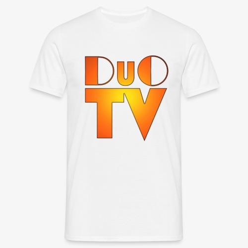 DuO TV Logo (Classic) - Männer T-Shirt
