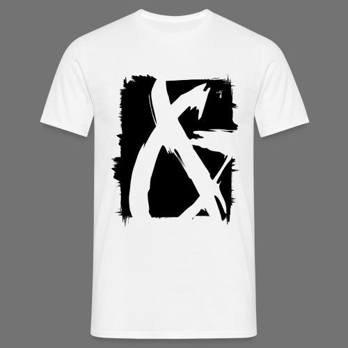 ja (musta) - Miesten t-paita