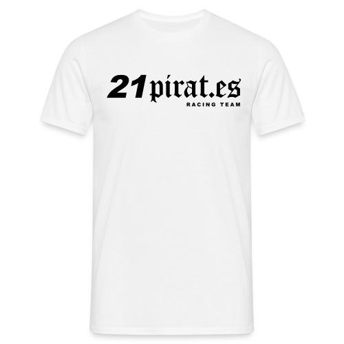 21pirates logo claim - Männer T-Shirt