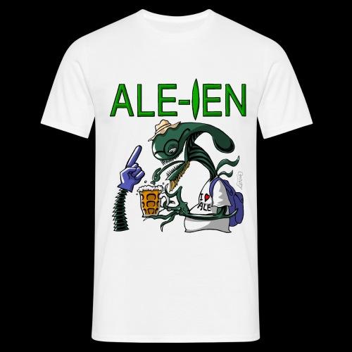 Ale ien White clothing - Men's T-Shirt