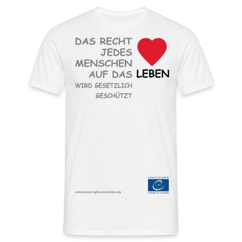 g vie - Männer T-Shirt