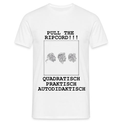 quadratisch praktisch autodidaktisch - Männer T-Shirt