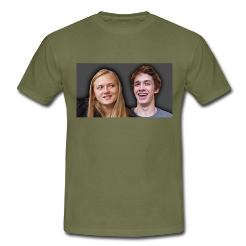 Profil billede beska ret - Herre-T-shirt