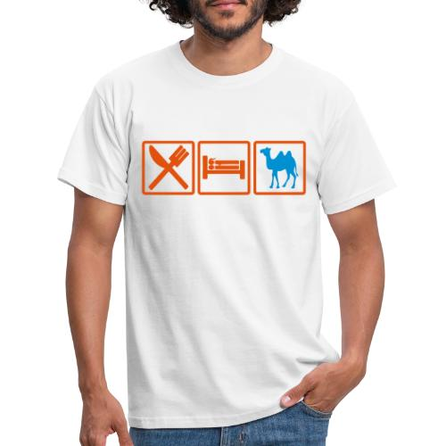 eatsex chameau2 - T-shirt Homme