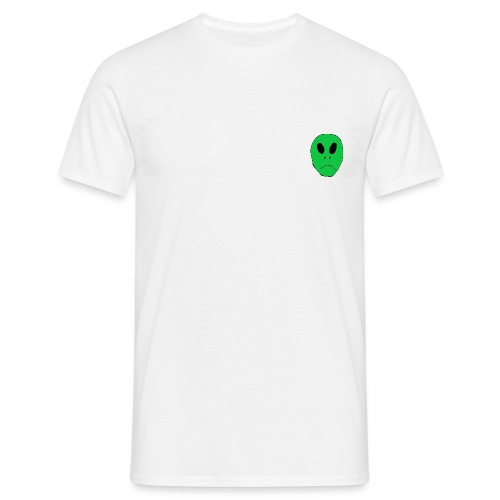 Alien Head - Men's T-Shirt