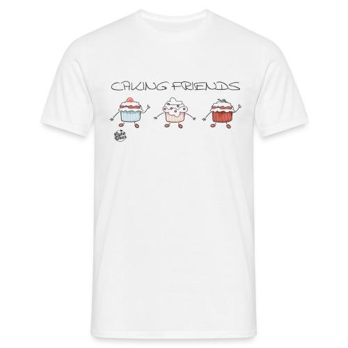 caking friends - Männer T-Shirt