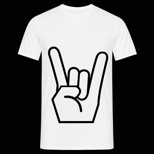 Rock on - Men's T-Shirt