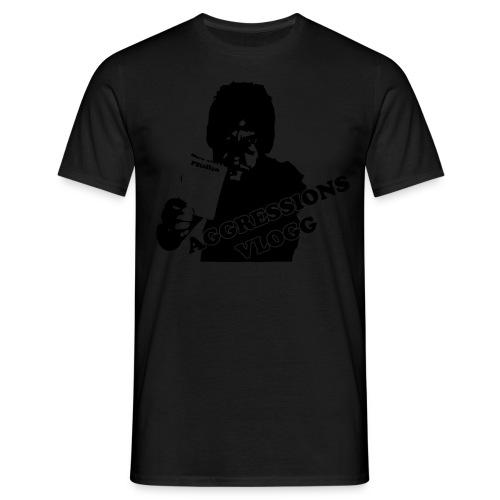aggressionvlogg - T-shirt herr