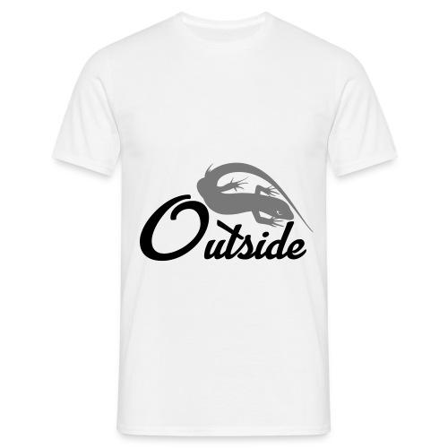 Outside - Männer T-Shirt
