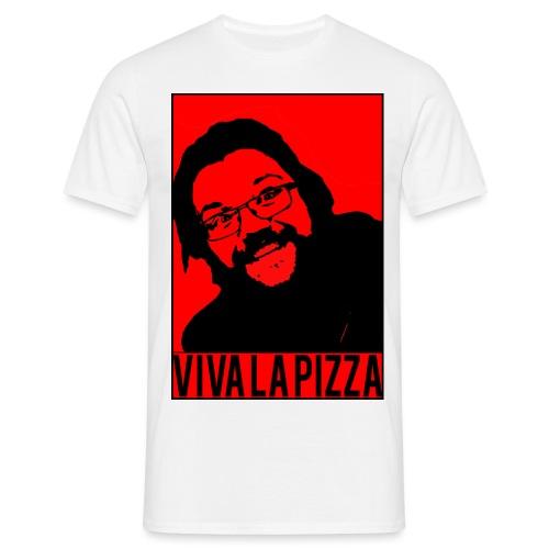 Viva La Pizza - Men's T-Shirt