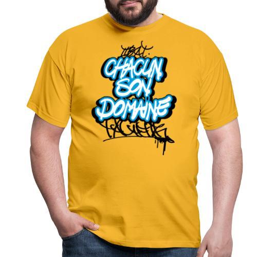 chacun son domaine - T-shirt Homme