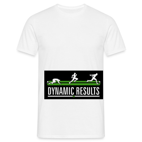 Dynamic Results Logo - Men's T-Shirt