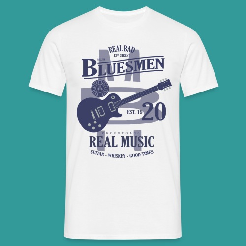 Real Bad Bluesmen - Men's T-Shirt