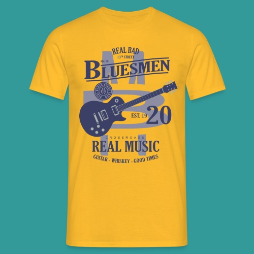 Real Bad Bluesmen - Men's T-Shirt
