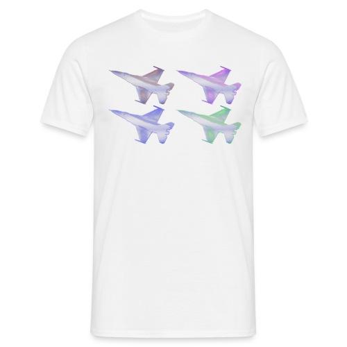 Popart design F16 2 - Männer T-Shirt