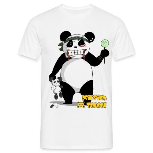 panda004 shirt gelb png - Männer T-Shirt